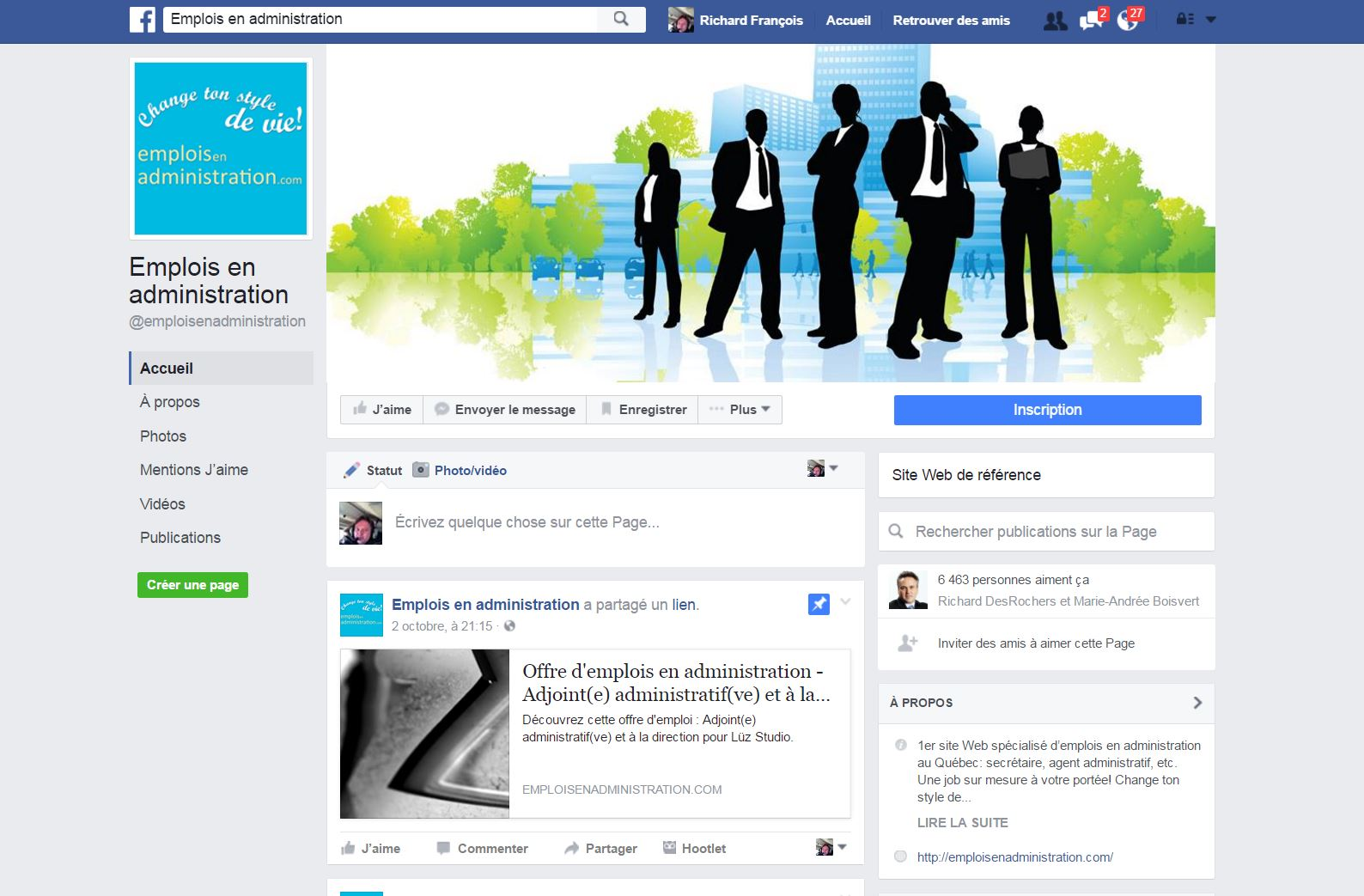 Groupes Facebook