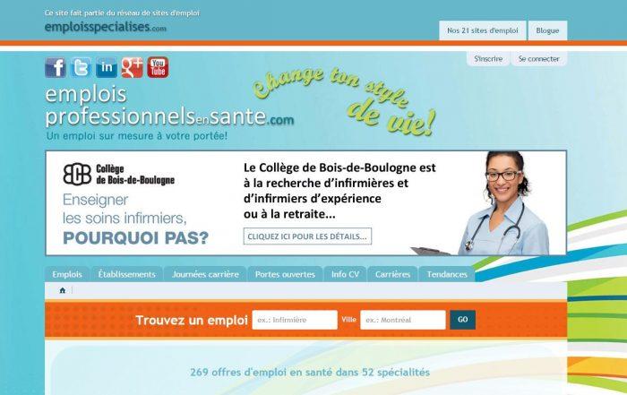 RH 2.0, Emplois en santé